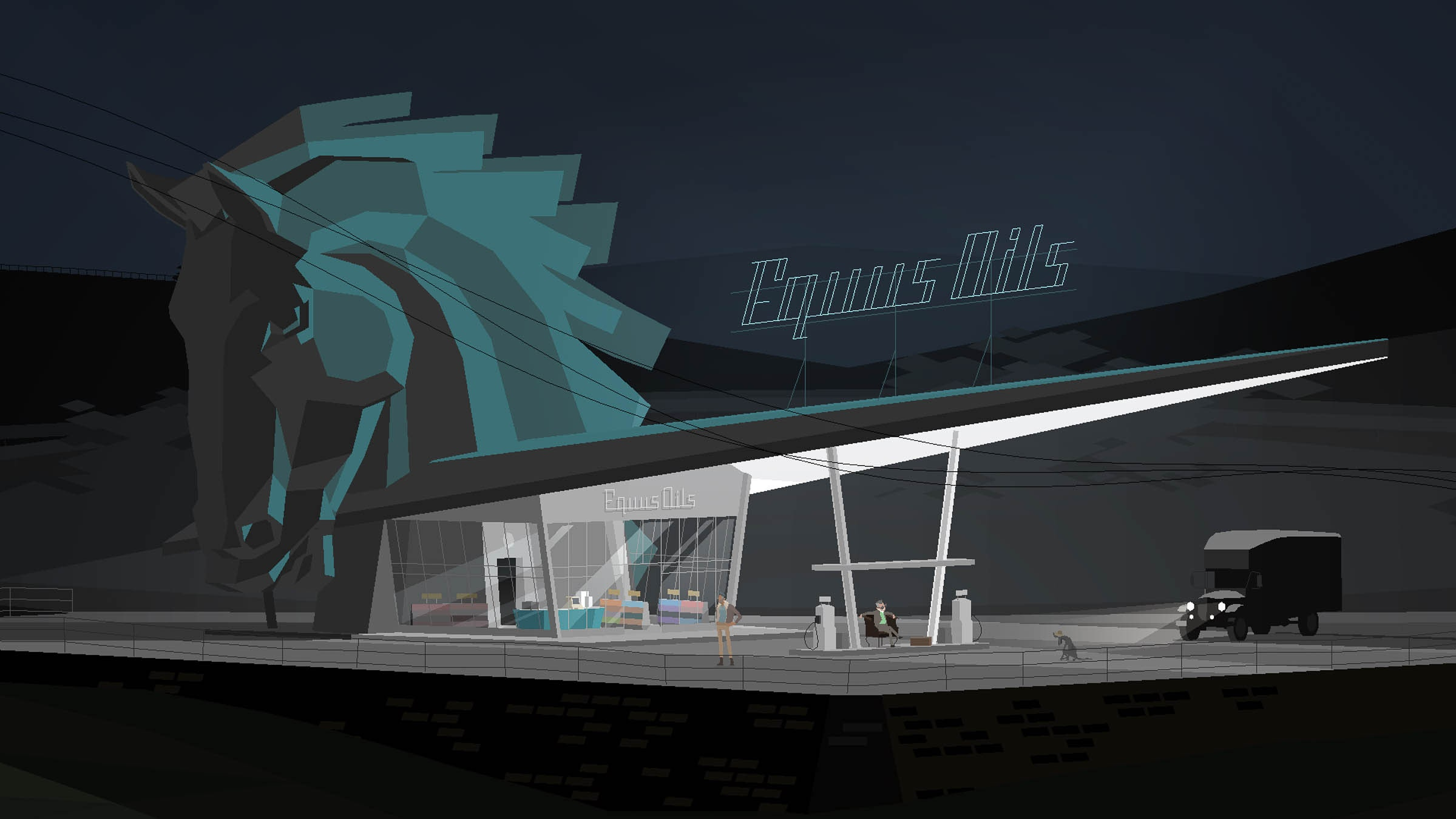 087: Kentucky Route Zero (Act 1)